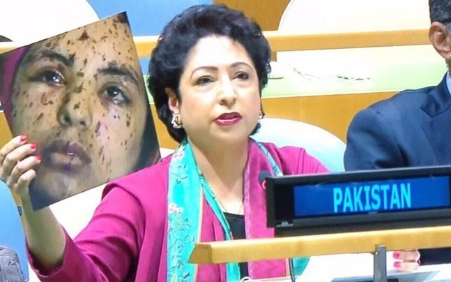 To Sushma's UNGA speech, Pakistan responds with fake photo, attack ...